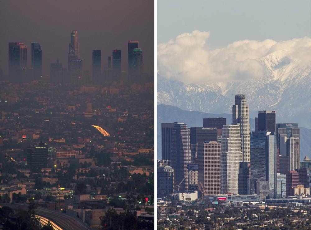 Smog Over Los Angleles