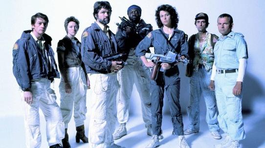 The cast of 1979's ALIEN