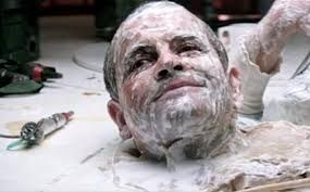 Ash's eerily sexual death sequence; horror has long had a connection with terror and sex, but here the villain literally dies drenched in a milky, cum-like substance...