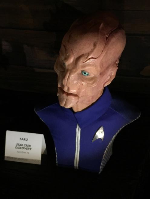 """Saru"" makeup from ""Star Trek Discovery"""