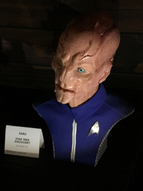 """Saru"" makeup from ""Star Trek Discovery"""