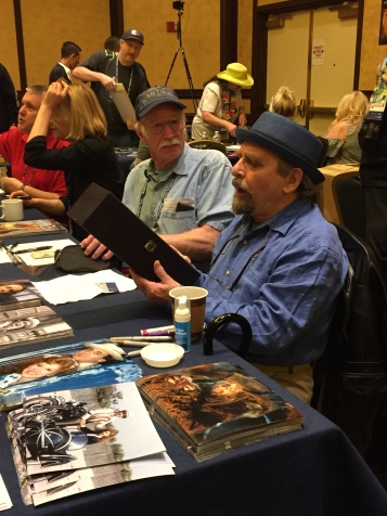7th Doctor and costar of the Hobbit movies, Sylvester McCoy.