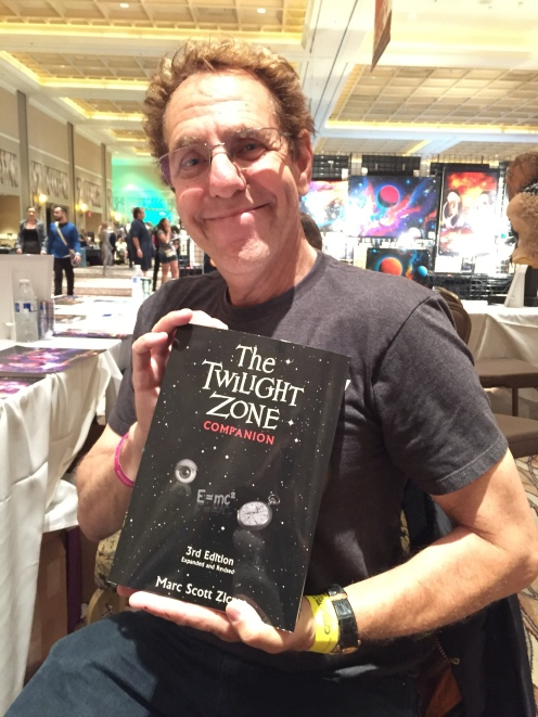 Mr. SciFi himself! Author/screenwriter/producer/director Marc Scott Zicree. Amazing guy!