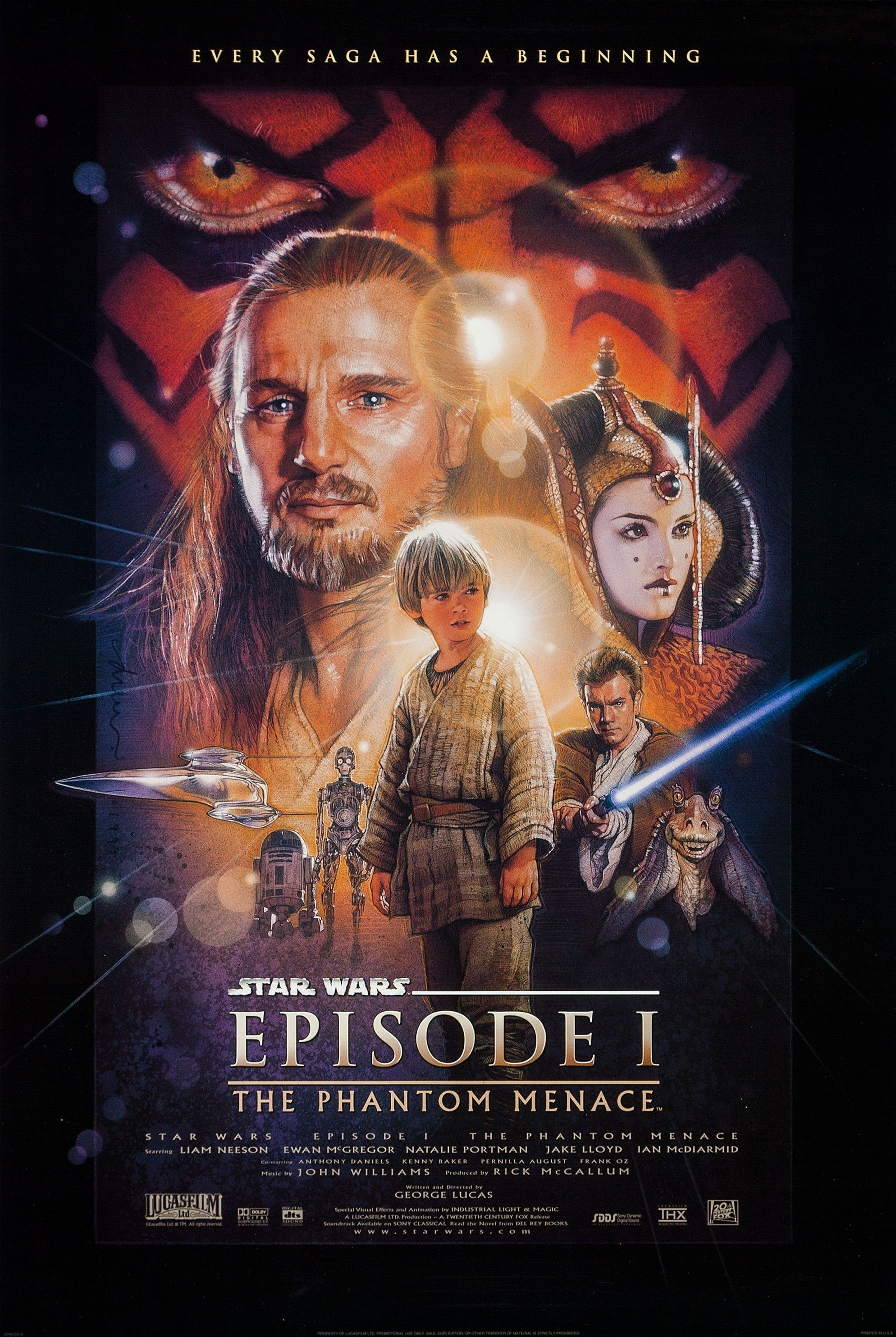 Star Wars Episode I The Phantom Menace Still Haunts My Dvd Cabinet 20 Years Later Musings Of A Middle Aged Geek