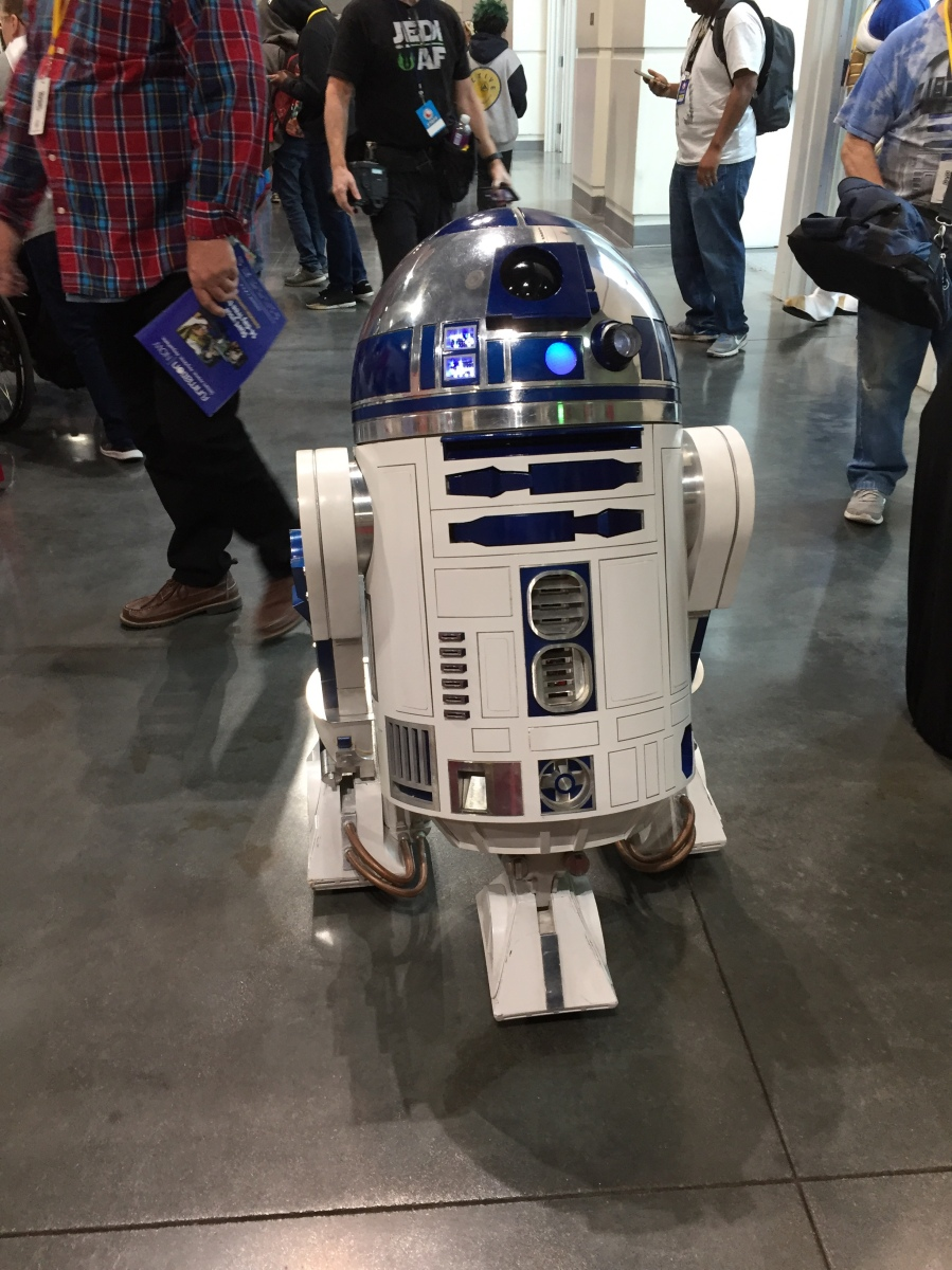 The Force was strong at Comic Con Revolution 2019 in Ontario, California...
