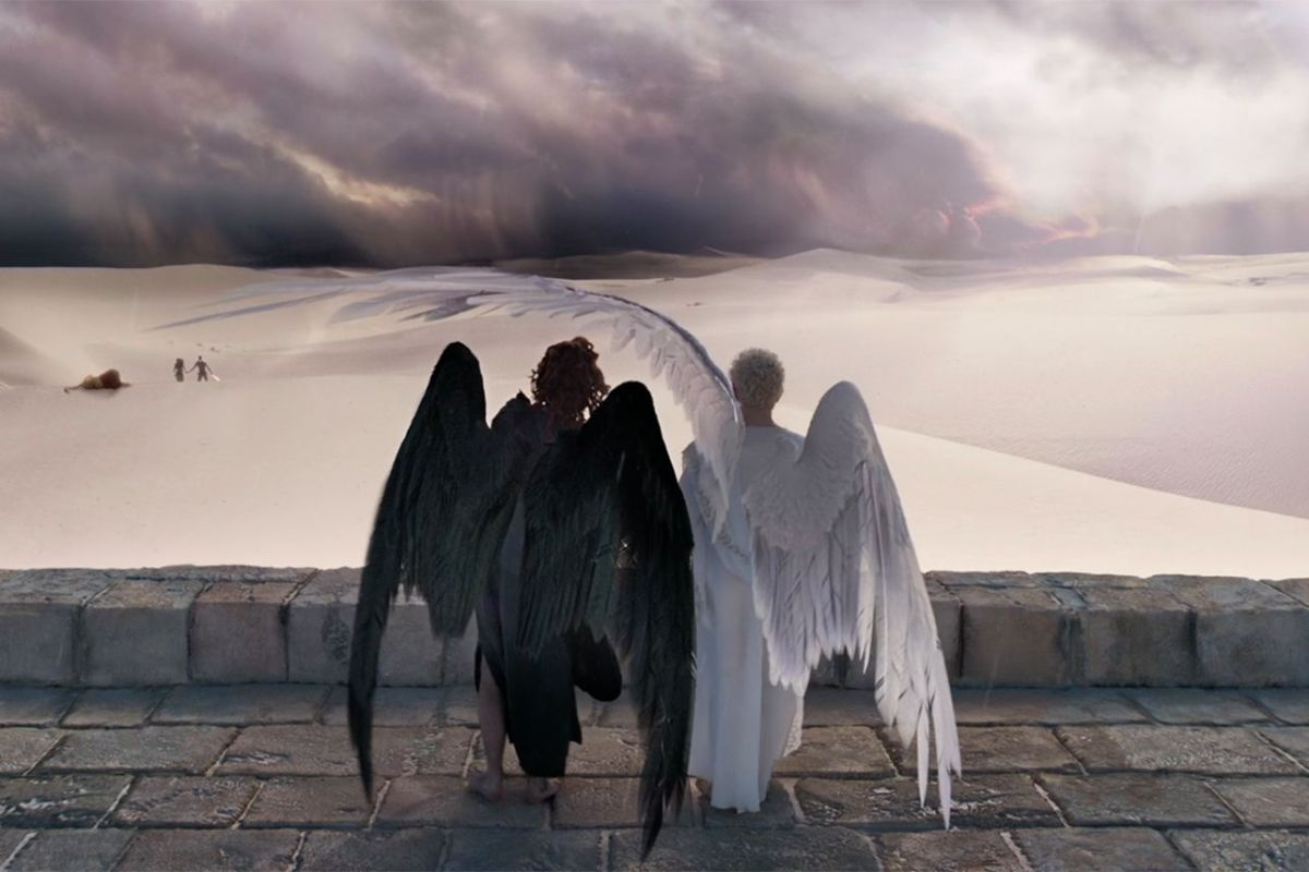 "Neil Gaiman's ""Good Omens"" is a divine comedy that's diabolically"