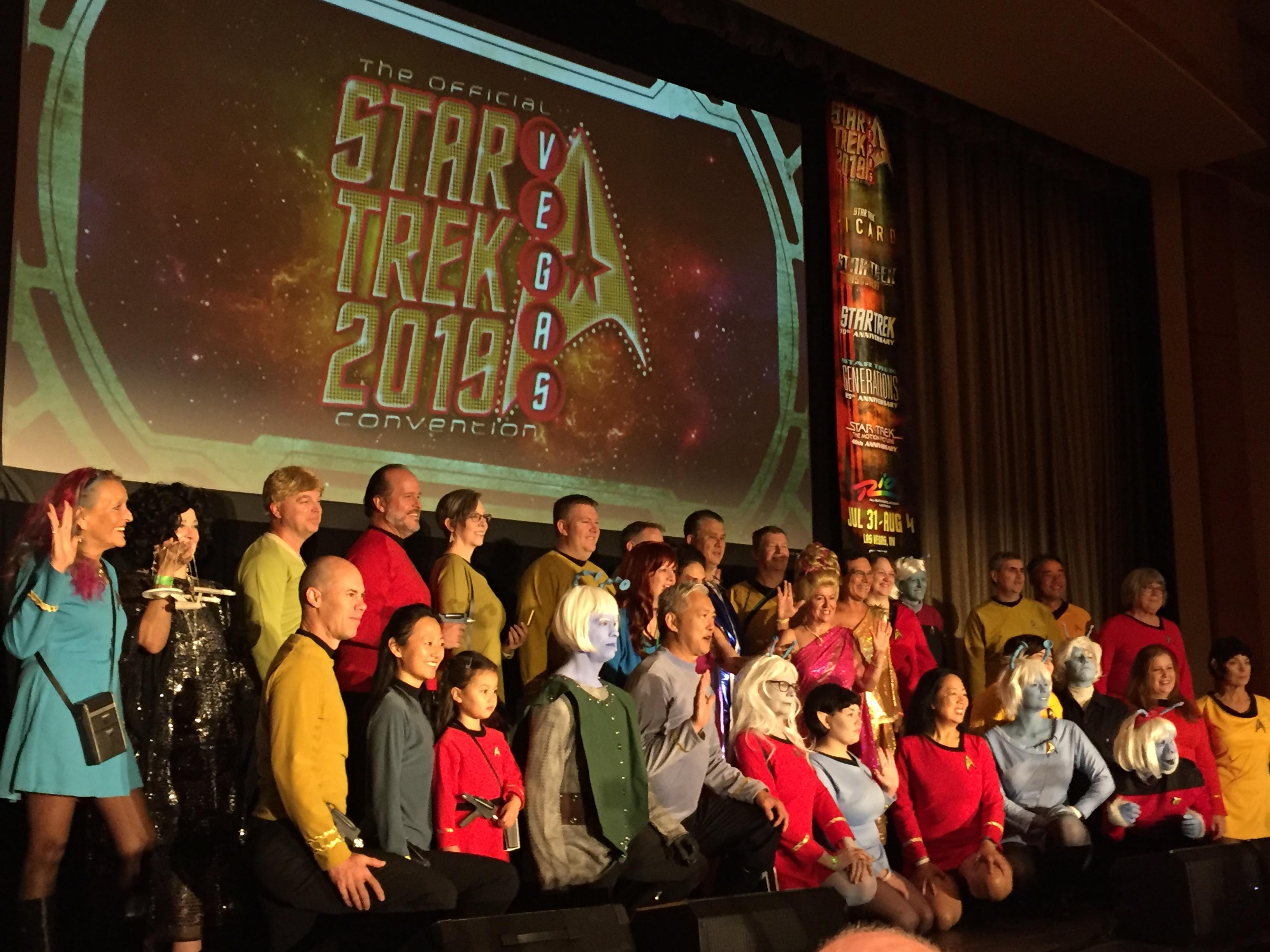 Star Trek Las Vegas, 2019: Reverse angle on the viewer
